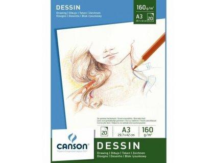 34428 canson dessin a3 kreslici blok