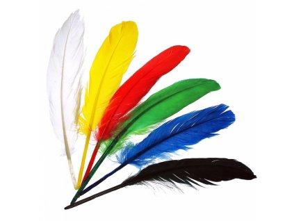 34704 indianska pericka 20cm mix barev meyco