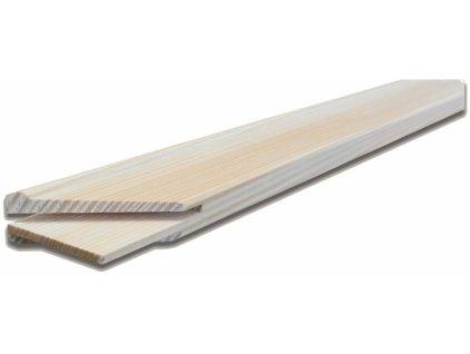 Blind rám - napínací rám smrk 45x20 mm – 135 cm