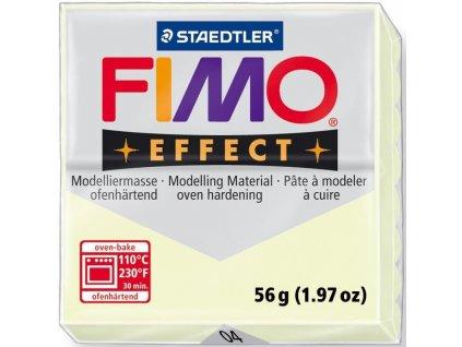 FIMO EFFECT polymerová hmota 56g fosforeskující - 004
