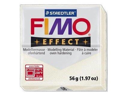 35370 fimo effect polymerova hmota 56g metalicka perletova 08