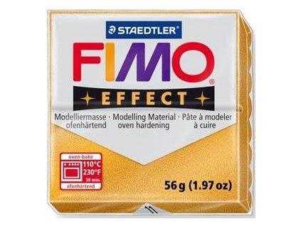 35382 fimo effect polymerova hmota 56g metalicka zlata 11
