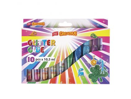 35517 glitrove lepidlo glitter glue easy 10x10 5 ml