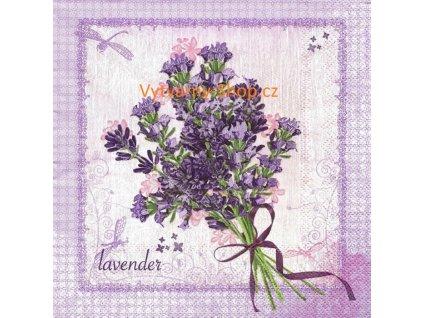 35913 ubrousek 33x33 cm bunch of lavender