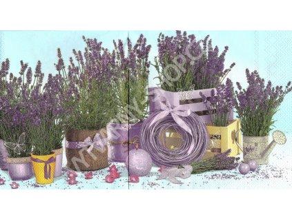 35919 ubrousek 33x33 cm lavender indoors