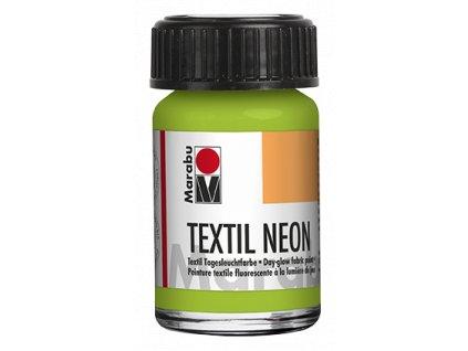 marabu textil neon 17110039365 zelena