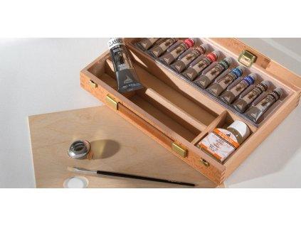 maimeri wooden oil box 0399068