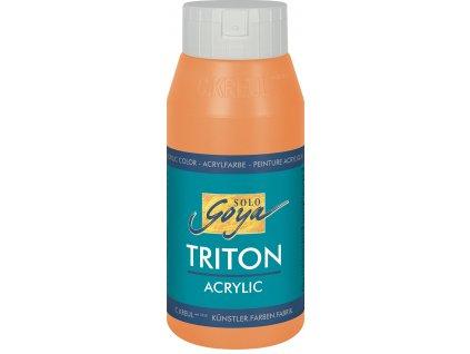 Akrylová barva SOLO GOYA Triton 750 ml oranžová