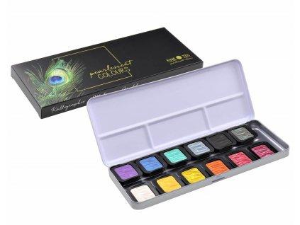 akvarelove barvy finetec f1200
