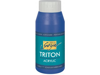 Akrylová barva SOLO GOYA Triton 750ml modrá ultramarín