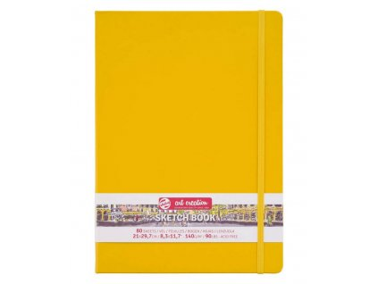 art creation book A4 yellow