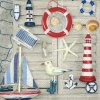 6152 ubrousek 33x33 souvenirs of the sea