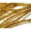 12113 plysovy drat 8 mm 50 cm zlaty