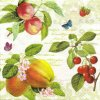 14780 ubrousek trivrstvy 33 x 33 cm ovoce vetvicky