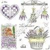 14864 ubrousek 33x33 cm lavender garden