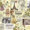 14939 ubrousek 33x33 cm vintage collage paris