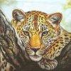 14969 ubrousek 33x33 cm leopard look