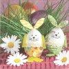 35871 ubrousek 33x33 cm bunny eggs