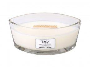 Woodwick Bílý čaj a jasmín - loď /S