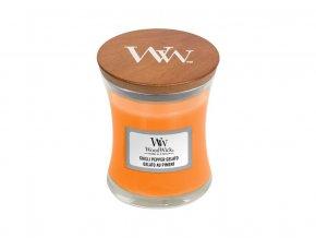 Woodwick Zmrzlina s čili a pepřem - váza malá /S