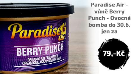 Po celý Červen Paradise Air - Berry Punch - Ovocná bomba