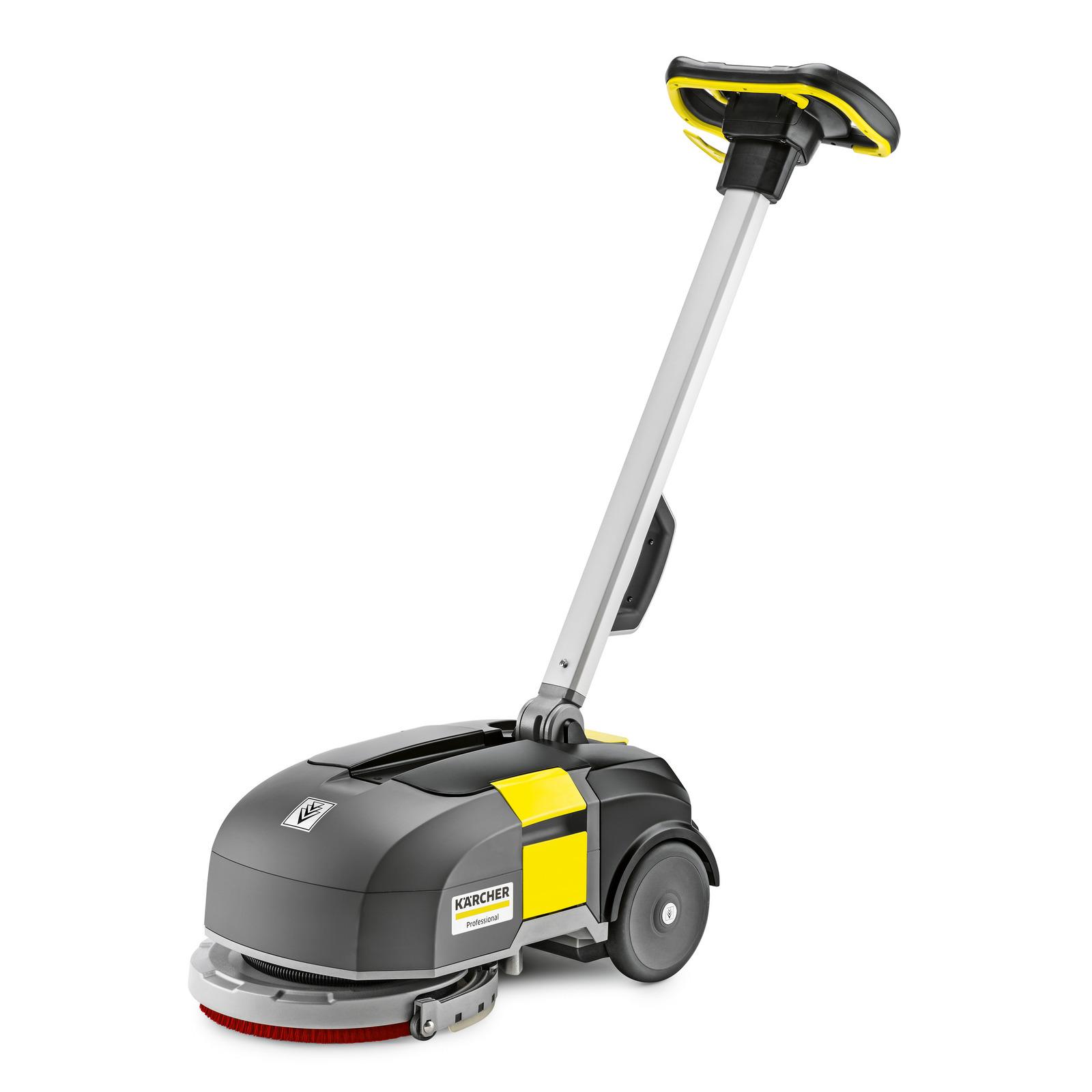 Ručně vedené podlahové mycí stroje s odsáváním