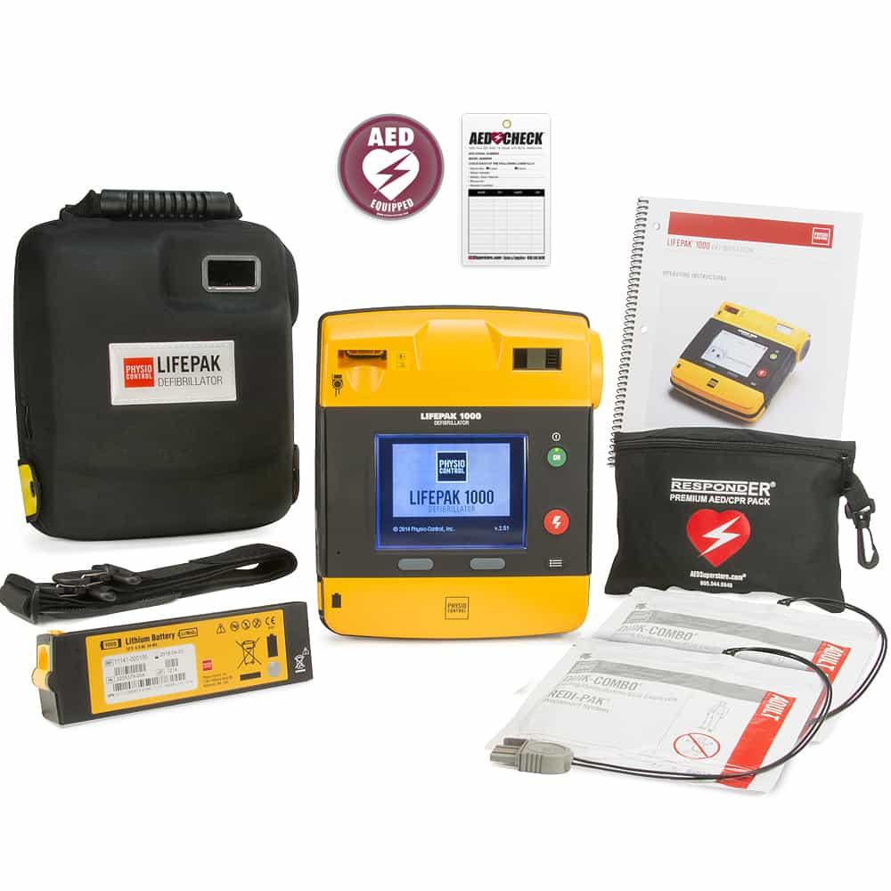 AED příslušenství