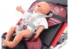 Zádržný systém do sanitek na přepravu dětí