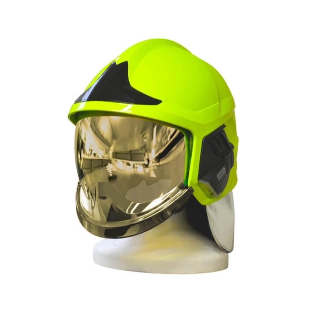 Zásahová přilba Gallet F1 XF, barva fluorescenční