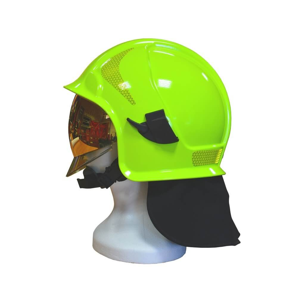Zásahová přilba INTECHPLAST Vulkan CV102 MO (fluorescenční)