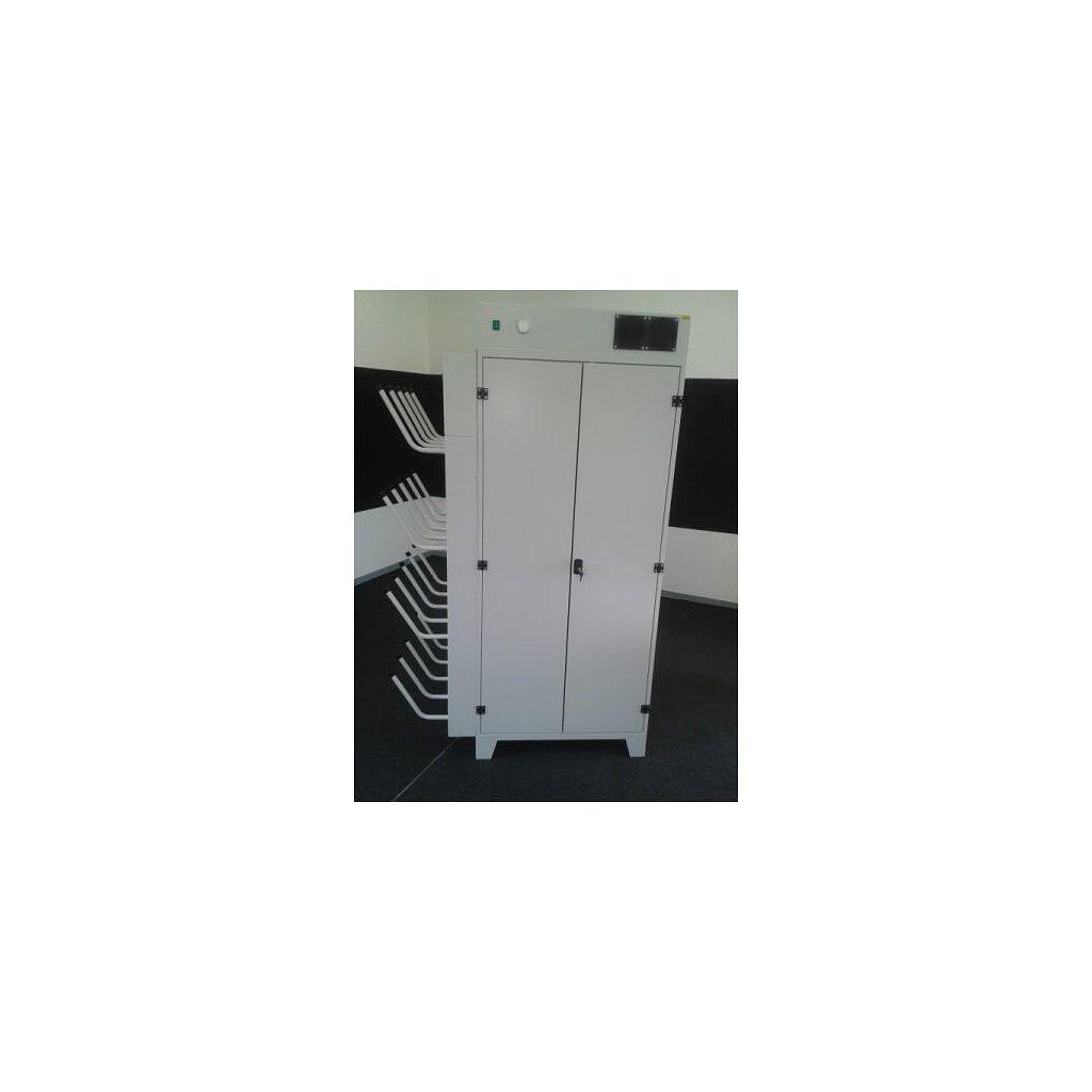 Sušící skříň s vysoušečem ROS 18/10 velkoobjemová ocelová skříň