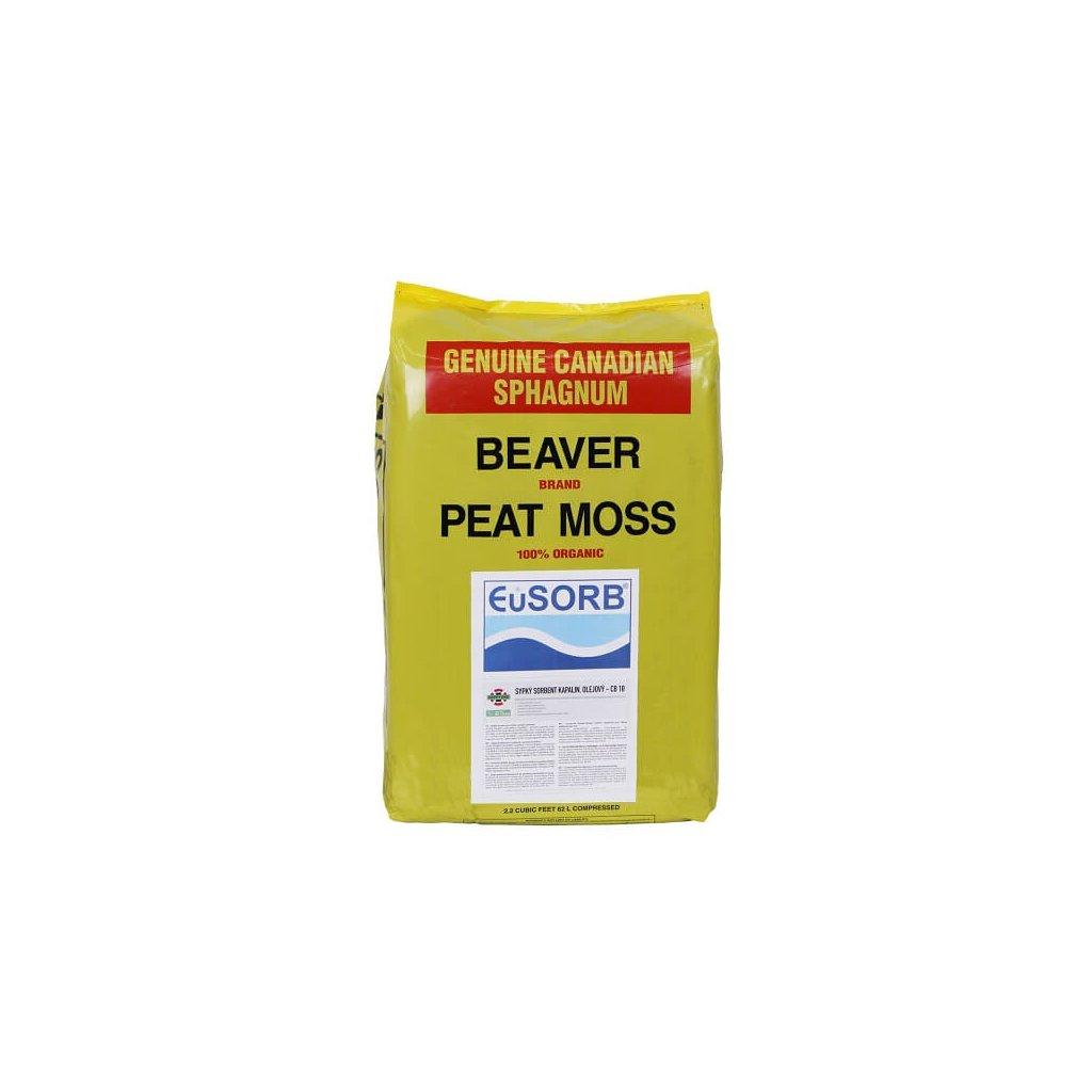 Sypký sorbent EUSORB rašelinový CB 18 (10kg)