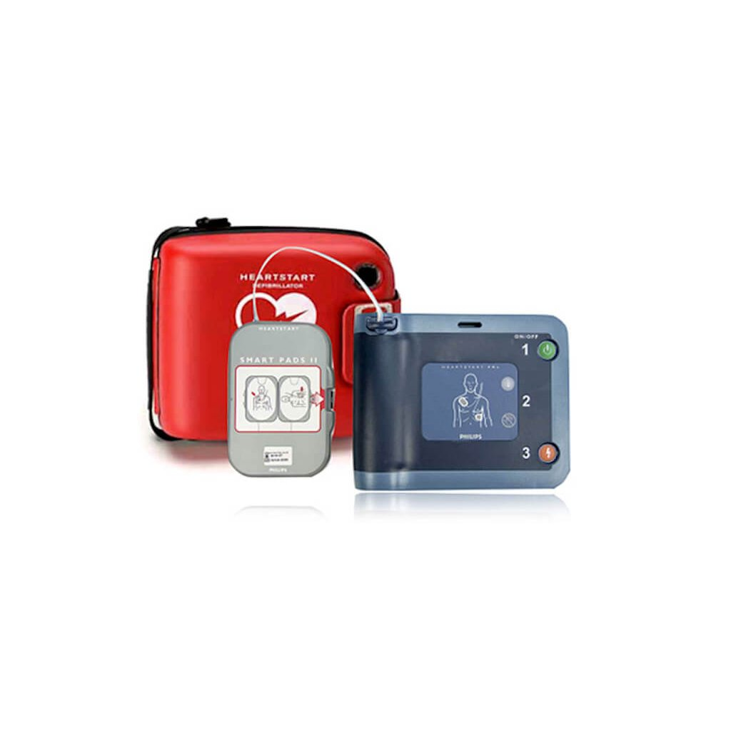 AED defibrilátor PHILIPS, HeartStart FRx - automatizovaný