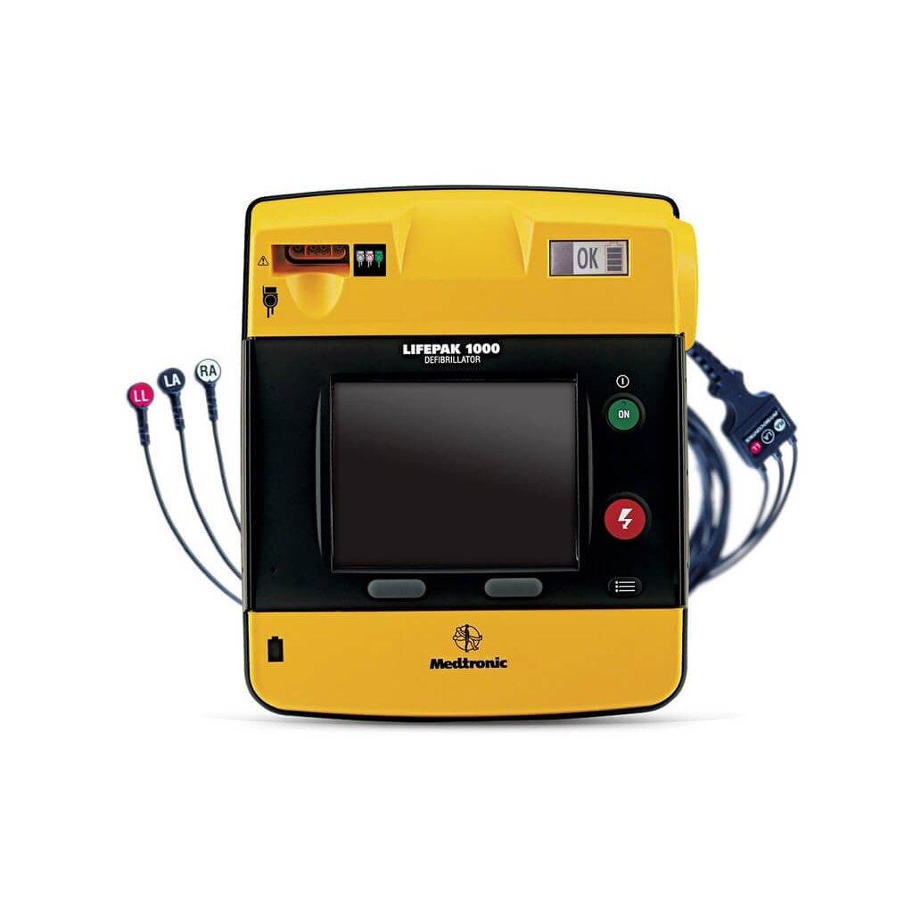 AED defibrilátor PHYSIO-CONTROL LIFEPAK 1000 EKG