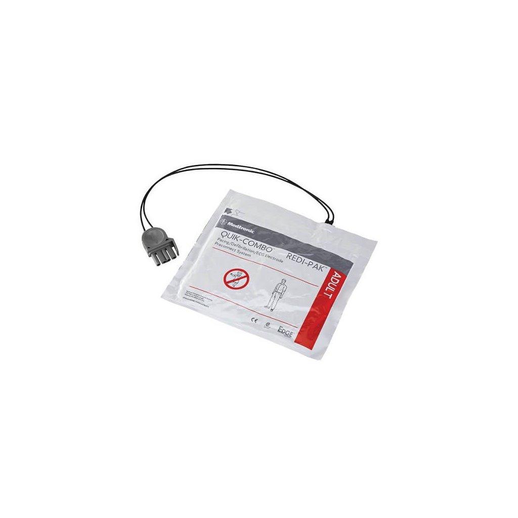 Nalepovací elektrody pro AED defibrilátor PHYSIO CONTROL LIFEPAK QUIK-COMBO REDI PAK (dospělého)