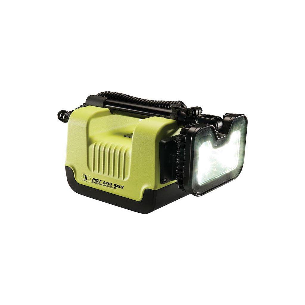 Osvětlovací přenosný systém PELI, RALS 9455 s Atexem do Z0 2
