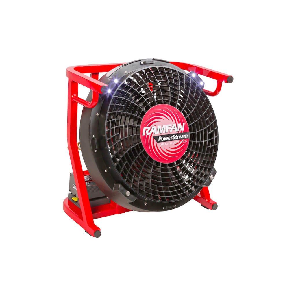 Přetlakový ventilátor akumulátorový RAMFAN, EX50Li 2