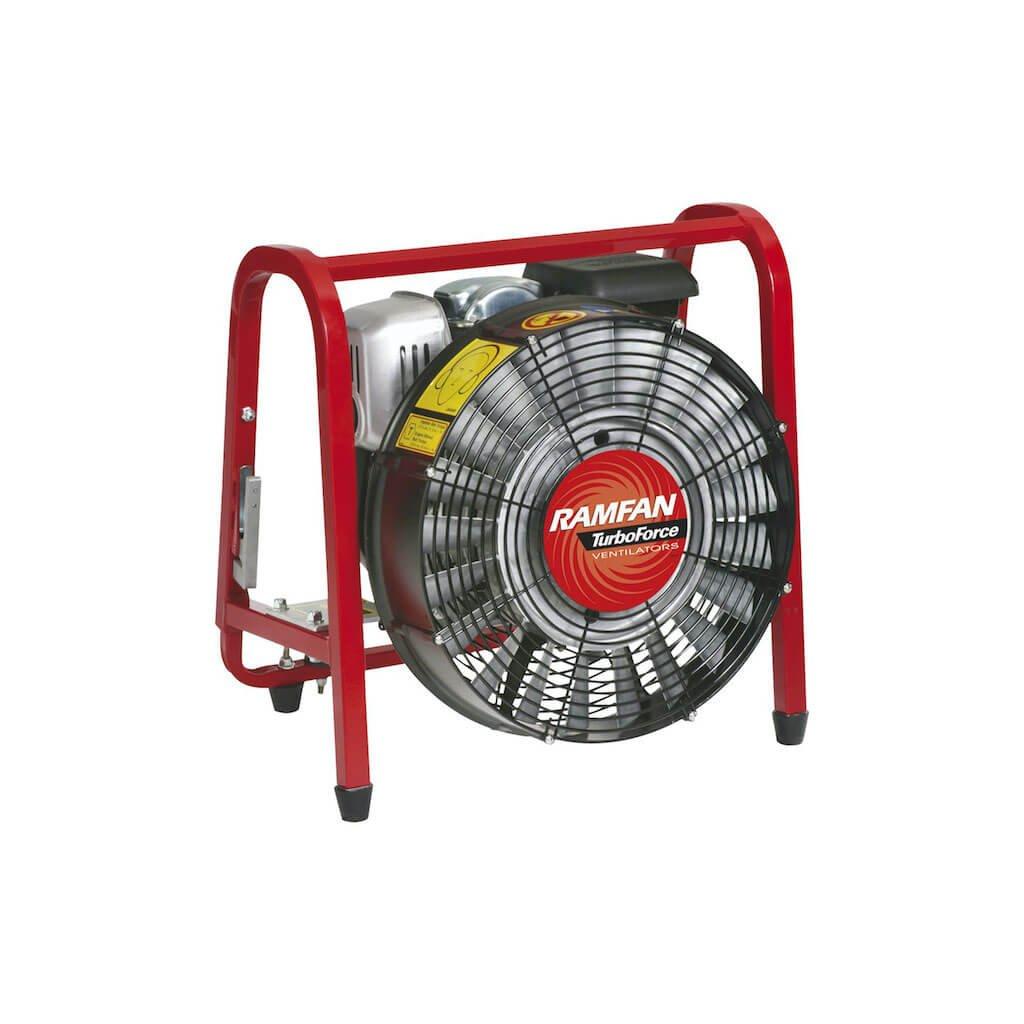 Přetlakový ventilátor RAMFAN GF164SE, benzínový