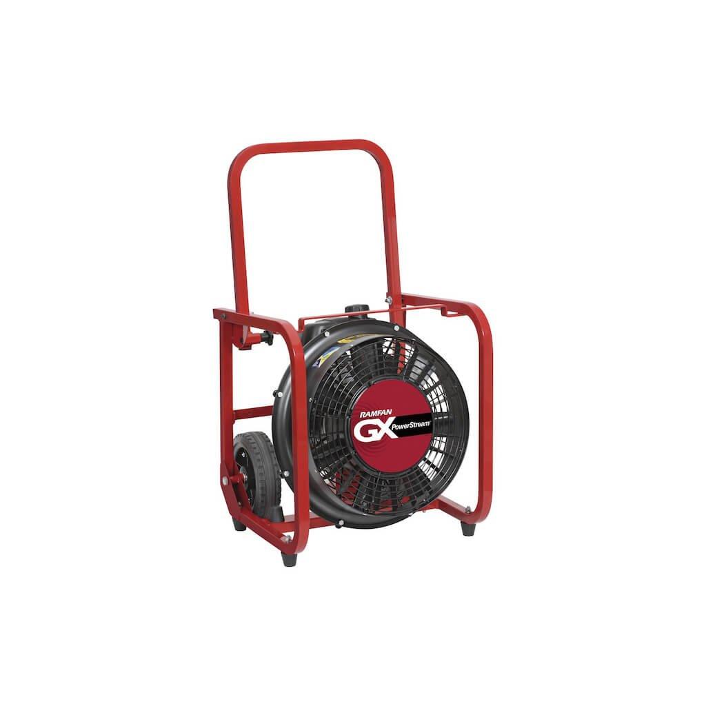 Přetlakový ventilátor benzínový RAMFAN, GX200 2