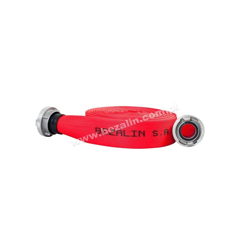 Hydrantová hadice BEZALIN, D25 (20m) AL s povrchovou úpravou, červená