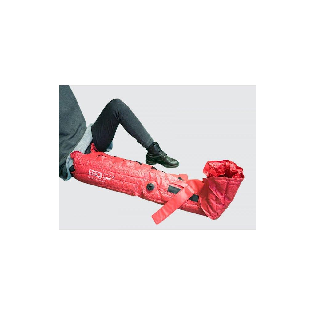 Vakuová fixační dlaha EGO ES-16 s opěrkou chodidla