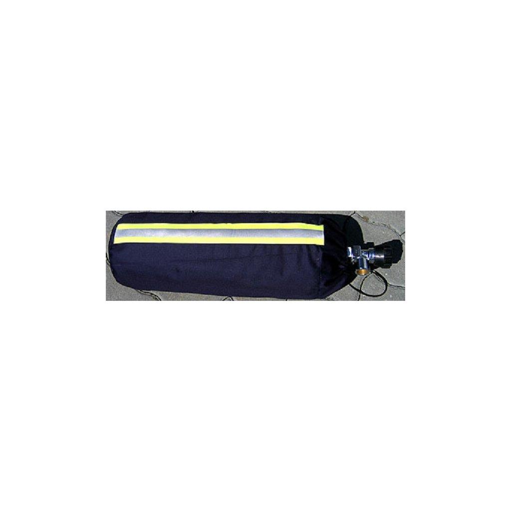 Obal na tlakovou láhev ZAHAS 9L materiál NOMEX, polstrovaný