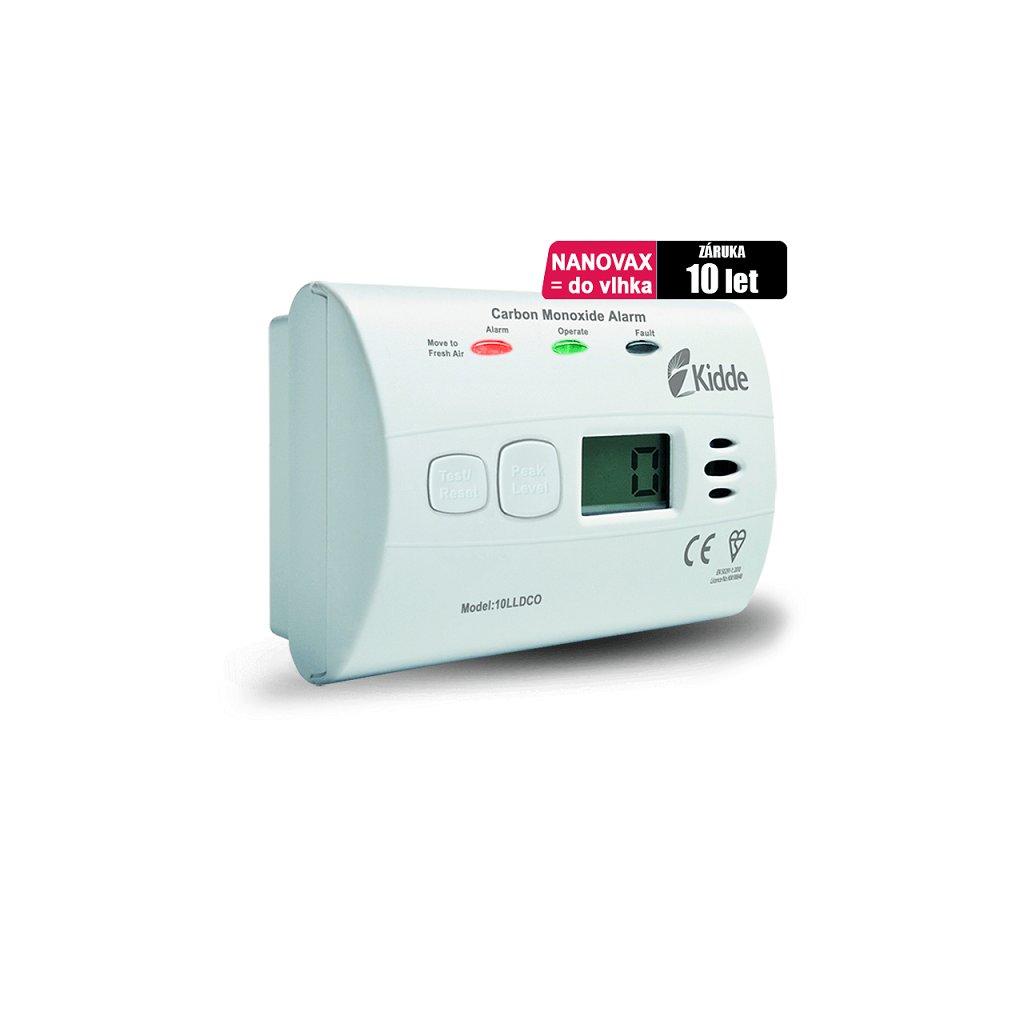 Detektor CO KIDDE 10LLDCO (odolný vůči vlhkosti)