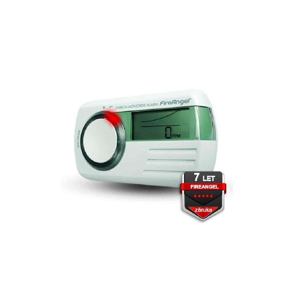 Detektor CO FireAngel CO 9D, multifunkční LCD