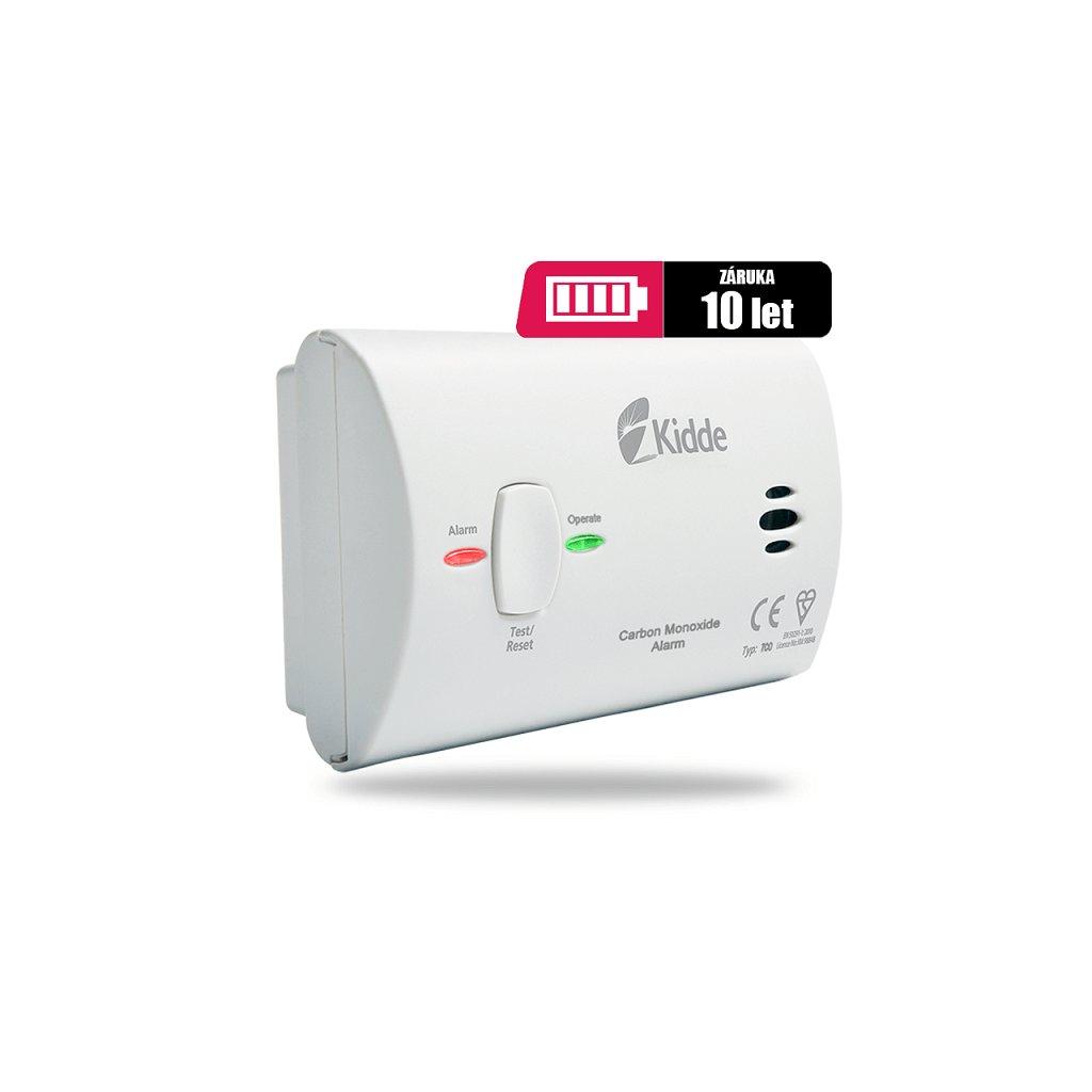 Detektor CO s alarmem KIDDE 7CO odolný proti vlhkosti