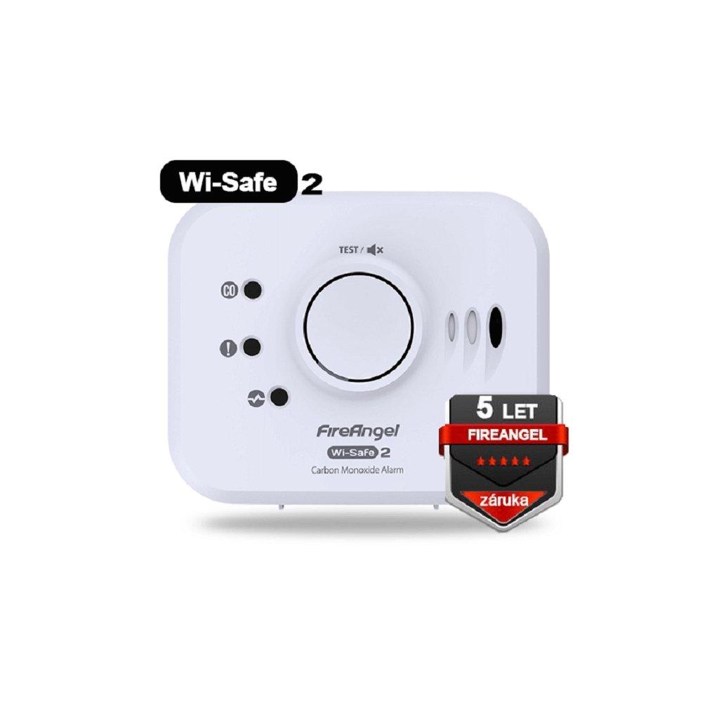 Detektor FIREANGEL CO W2-CO-10X Wi-Safe 2