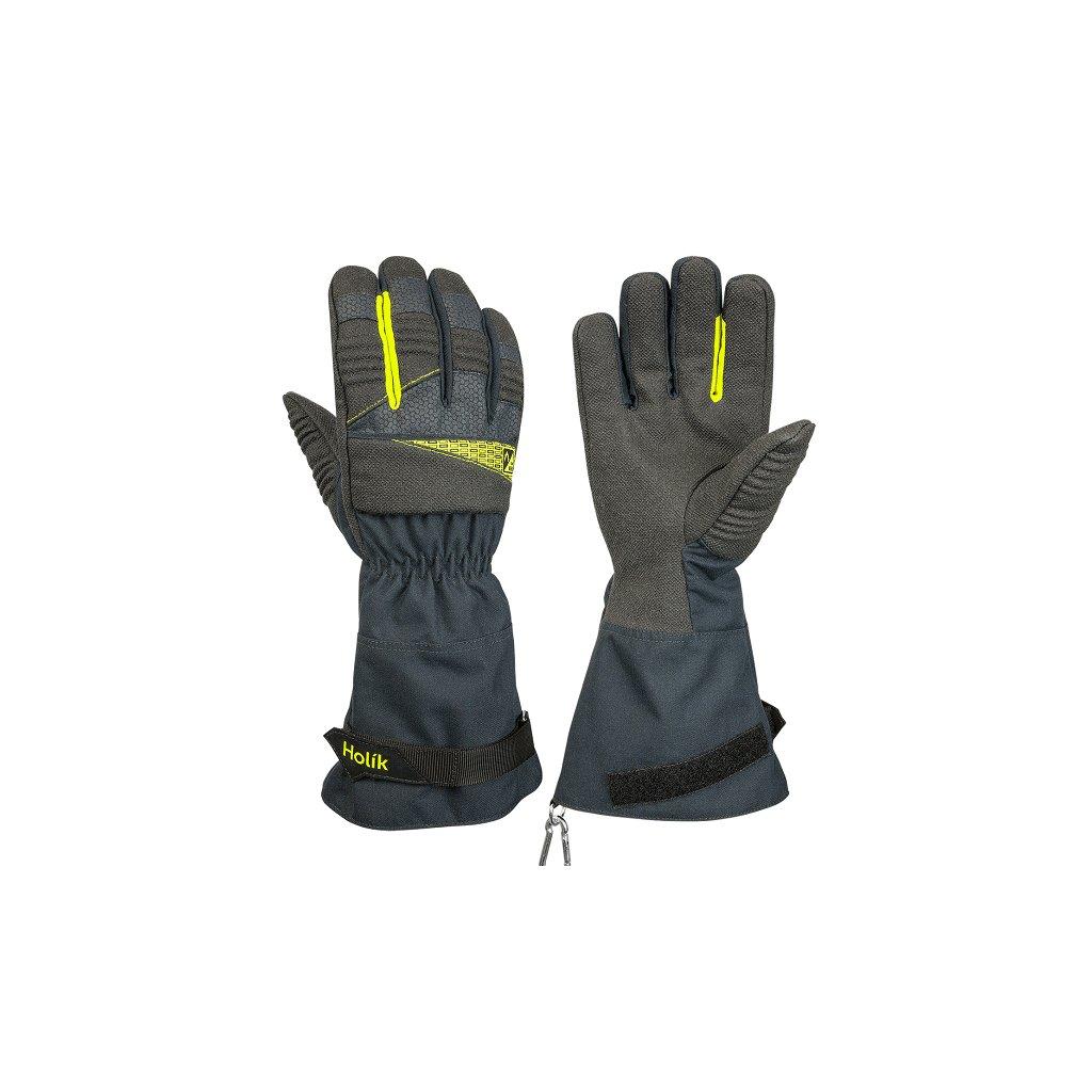 Zásahové ochranné rukavice pro hasiče Holík, Mercedes 8018