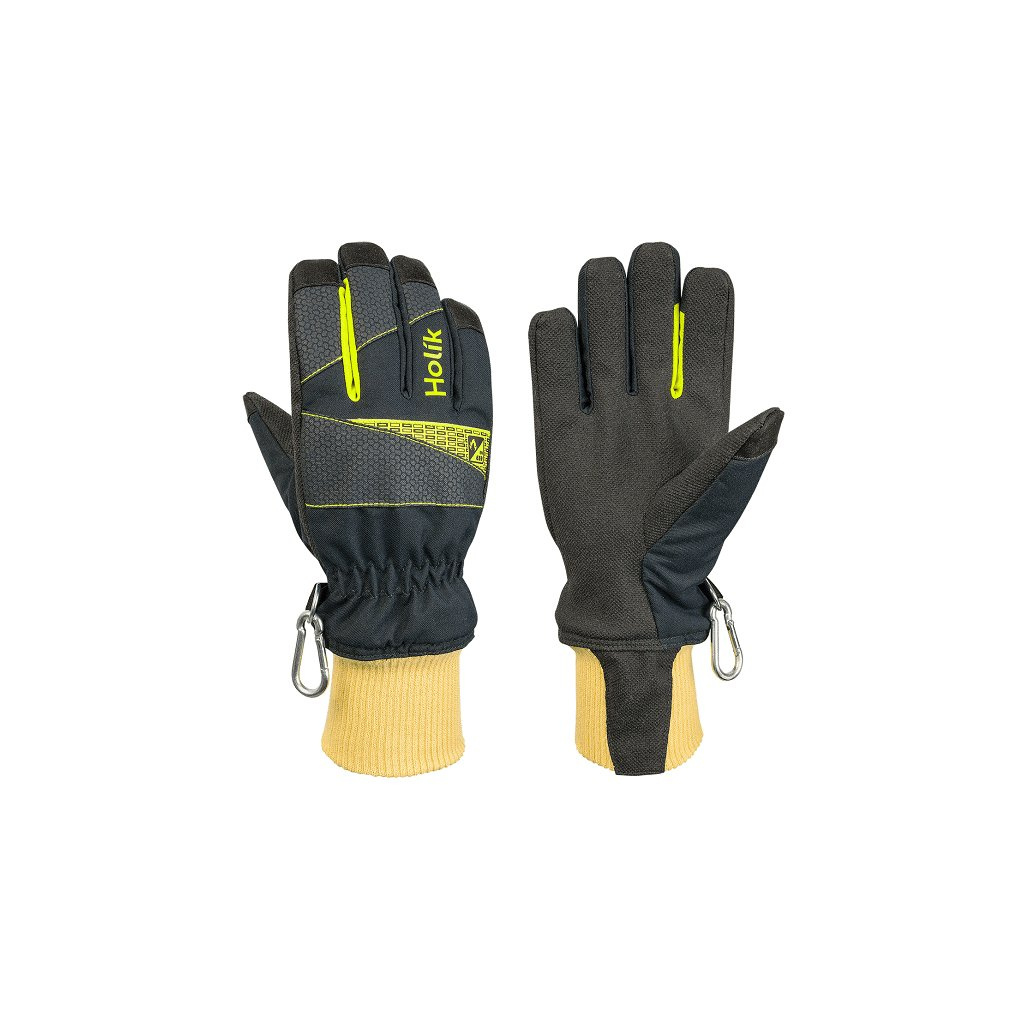 Zásahové ochranné rukavice HOLÍK Diamond 8008 pro hasiče