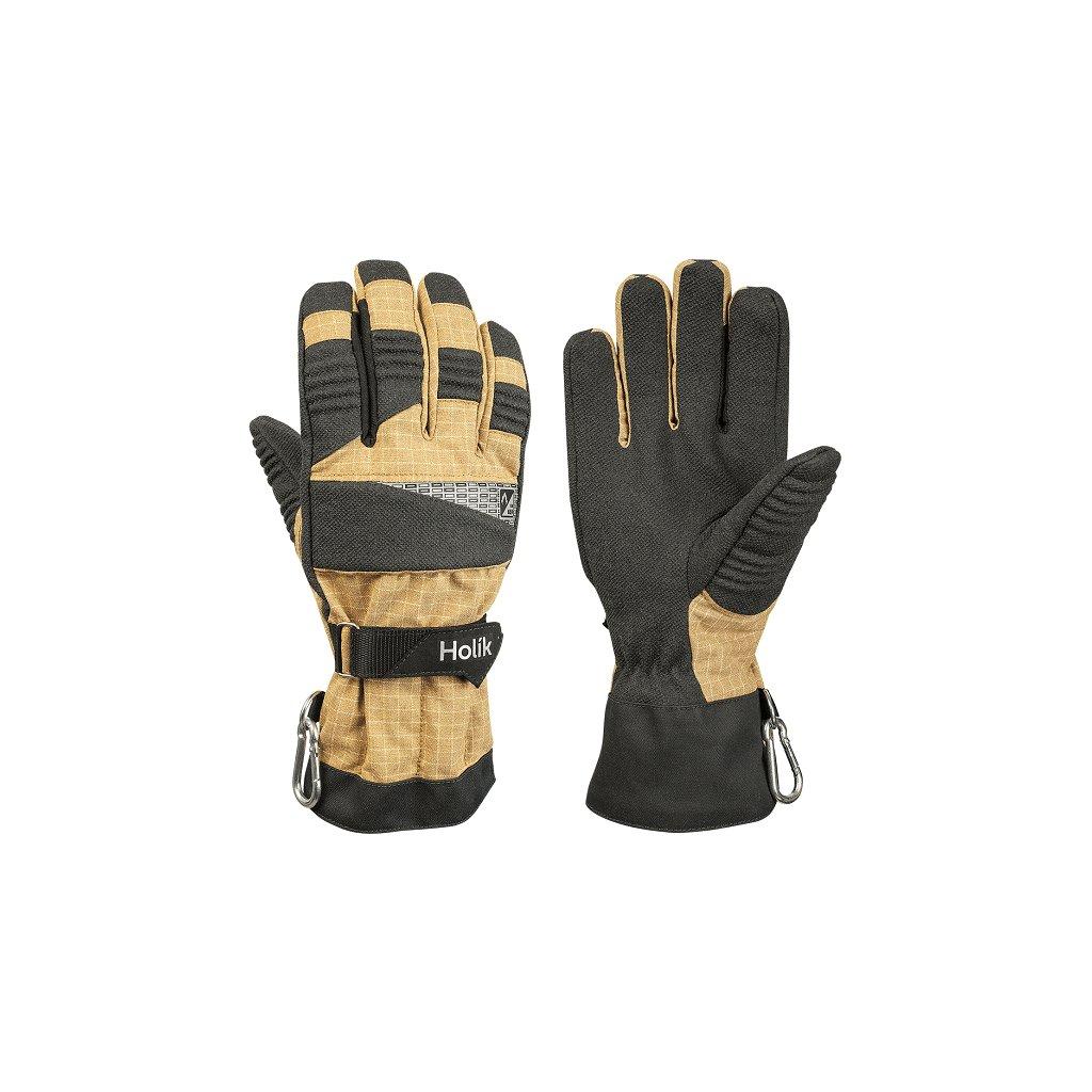Zásahové ochranné rukavice pro hasiče Holík, Harley 8037
