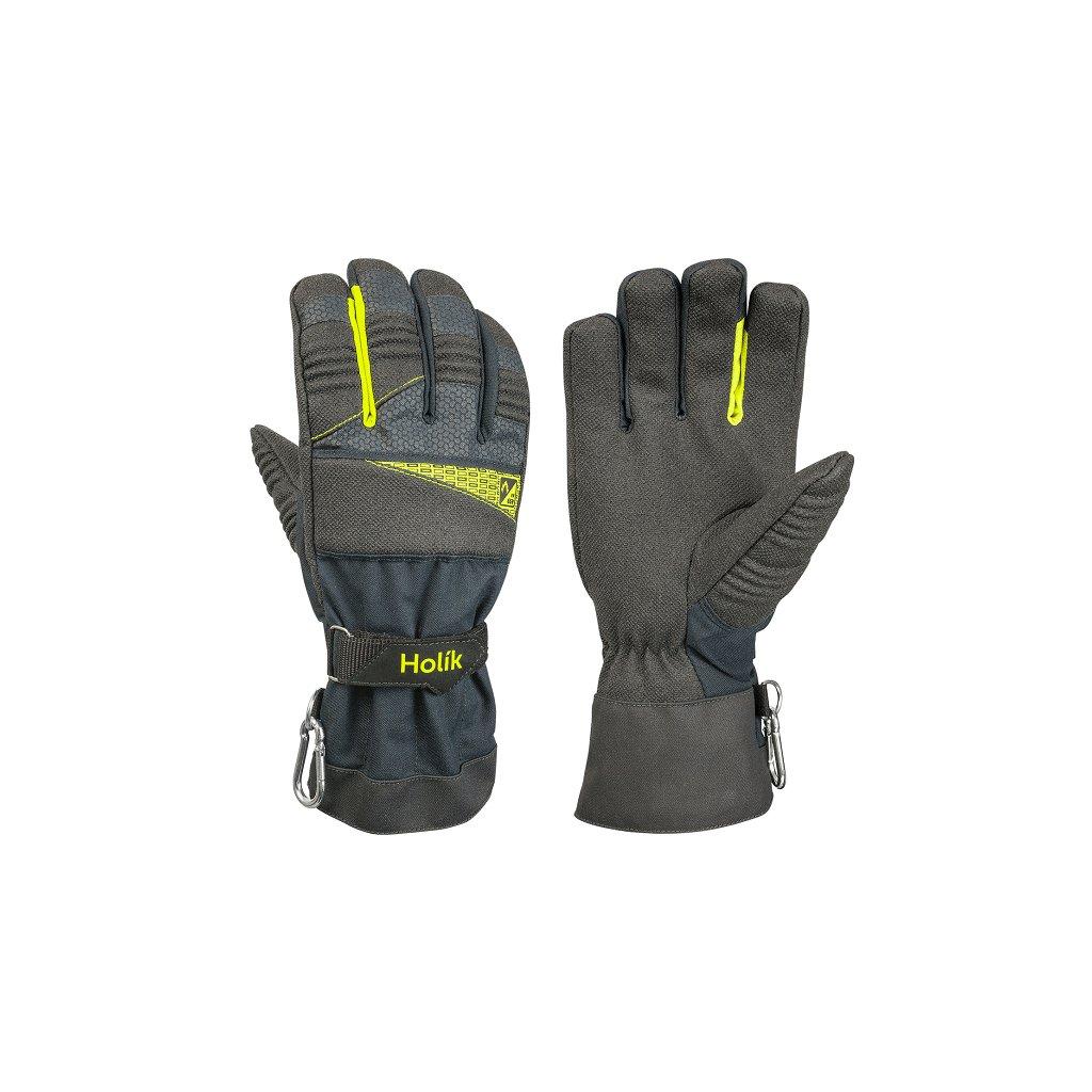 Zásahové ochranné rukavice pro hasiče Holík, Meadow 8038